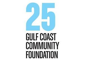 Gulf Coast Community Foundation 25 year anniversary logo